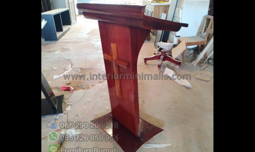 Special Produk Mimbar Masjid Minimalis Murah MM 815