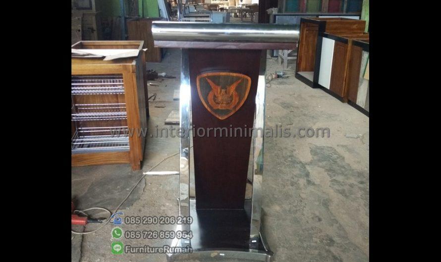 Special Produk Mimbar Mushola Minimalis MM 498