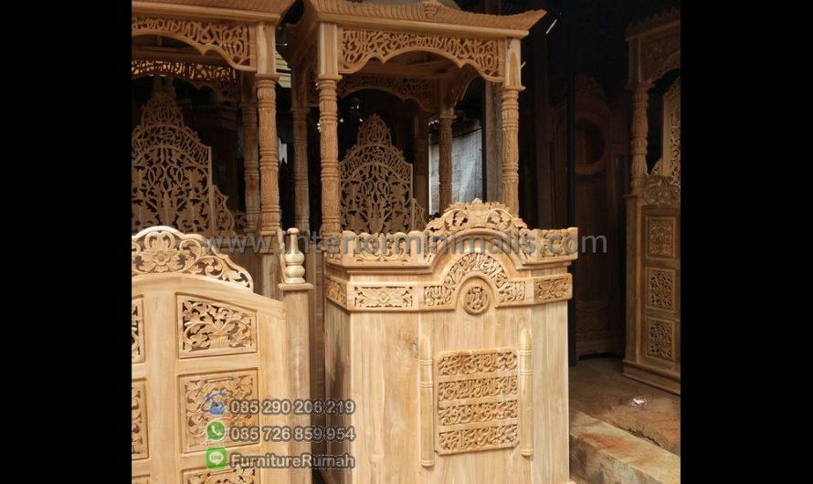 Special Produk Ukuran Mimbar Masjid Minimalis MM 503