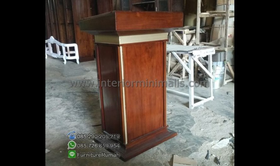 Special Promo Contoh Mimbar Masjid Terbaru MM 572